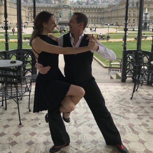 Tango Práktika open class mit Michela & Alex